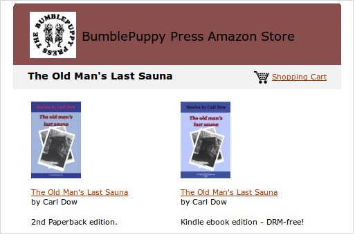 Image: Link to BumblePuppy Press Amazon store